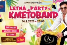 SUMMER PARTY WITH KMETOBAND IN OLYMPIC CASINO KOSICE
