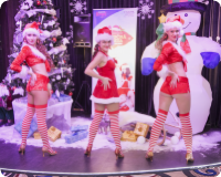 SEXY CHRISTMAS PARTY AT OLYMPIC CASINO CARLTON