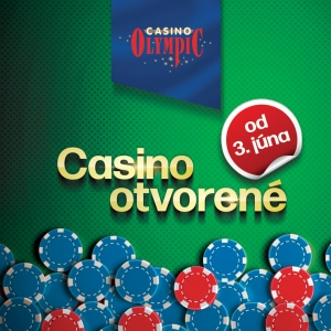 OLYMPIC CASINO OPERATIONS ARE OPENED