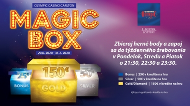 MAGIC BOX AT OLYMPIC CASINO BRATISLAVA, CARLTON