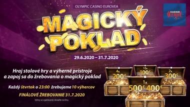 MAGICKÝ POKLAD V OLYMPIC CASINO BRATISLAVA, EUROVEA