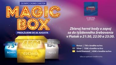 MAGIC BOX AT OLYMPIC CASINO BRATISLAVA, CARLTON