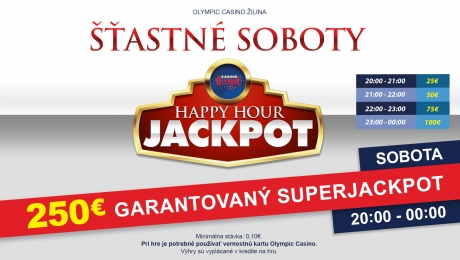 HAPPY HOUR JACKPOT V OLYMPIC CASINO ZILINA