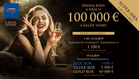 SUPER GAME 2019 AT OLYMPIC CASINO SLOVAKIA