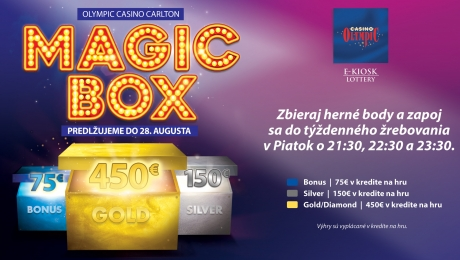 MAGIC BOX V OLYMPIC CASINO BRATISLAVA, CARLTON
