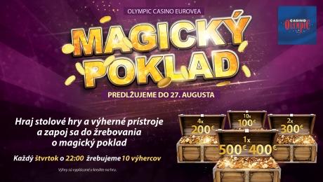 MAGIC TREASURE AT OLYMPIC CASINO BRATISLAVA, EUROVEA