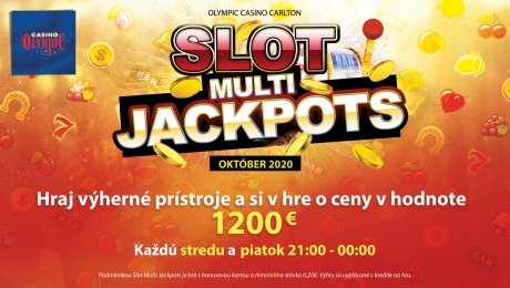 SLOT MULTI JACKPOTS AT OLYMPIC CASINO BRATISLAVA, CARLTON