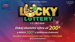 LUCKY LOTTERY V OLYMPIC CASINO BRATISLAVA, EUROVEA